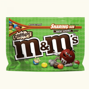 M&Ms Crispy Chocolate Candies