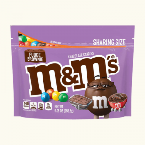 M&Ms Fudge Brownie Chocolate Candies