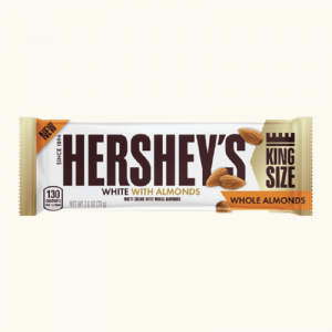 Hersheys White Whole Almonds King Size