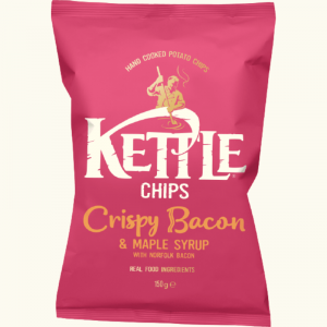 Kettle Chips Bacon & Maple Syrup